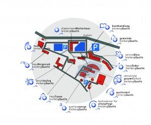 Lageplan Bleibergquelle